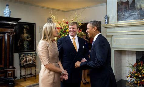 het witte huis in amerika koningspaar naar obama in witte huis