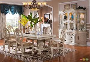 thematic white dining room sets for your intimate soul With white formal dining room sets