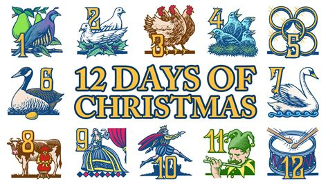12 Days Of Christmas  Singing The Song In My Heart