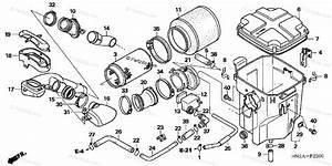 Honda Atv 2007 Oem Parts Diagram For Air Cleaner