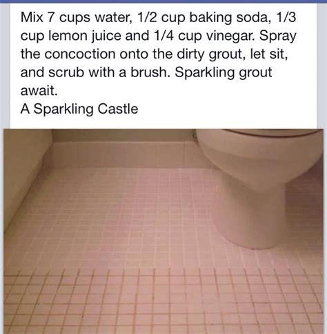 clean tiles grout life hacks  home repair