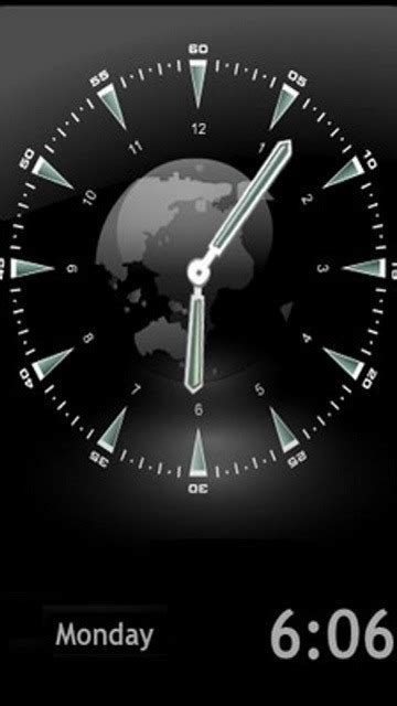 Animated Clock Wallpaper - free mobile phone wallpaper animated clock 1413