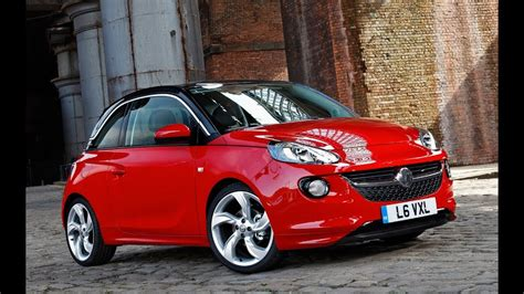 vauxhall adam  car review youtube