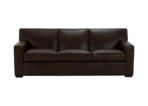 loveseat leather sofa kendall leather sofa sofas loveseats ethan allen