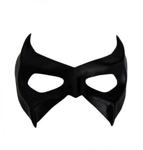 robin mask template batman nightwing robin grayson leather eye patch masks ebay