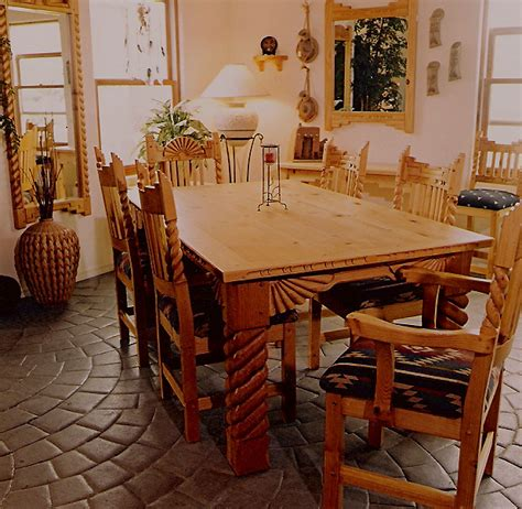 Great Southwest Dining Set, Tables, Chairs, China Cabinets. Kid Desk And Chair. 4 Drawer Dressers. Wicker Drawer Knobs. Desk Sculptures. Assembled Computer Desks. Large Drawer Pulls. Designer Coffee Table. Welding Table Plans
