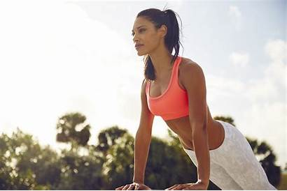 Fitness Workout Wallpapers Spring Woman Background Clean