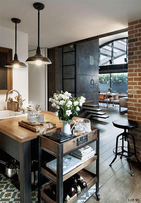 cuisine dans loft les 25 meilleures idées de la catégorie décoration