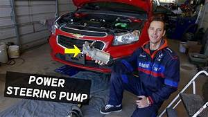 Chevrolet Cruze Power Steering Pump Replacement Removal