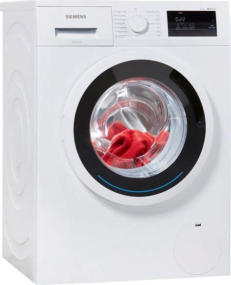 siemens waschmaschine 6 kg siemens waschmaschine iq300 wm14n0eco 6 kg 1400 u min kaufen otto