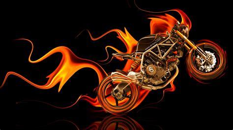 ncr  side super fire abstract bike  el tony