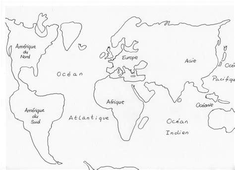 peinture chambre garcon tendance carte du monde a dessiner my