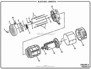 Homelite Bm907015 7000 Watt Generator Mfg  No  090930287