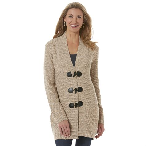 womens cardigan sweaters 39 s toggle sweater marled