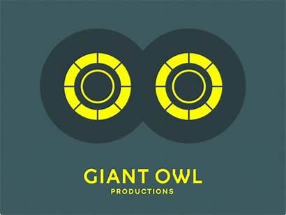Owl Company Giant Production Logos Animated Studio