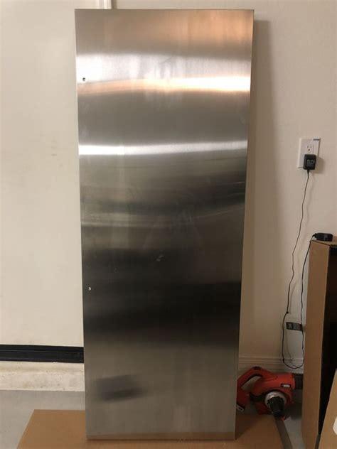 ge monogram  door wrap cafe pro wrx replacement refrigerator fridge door panel cover