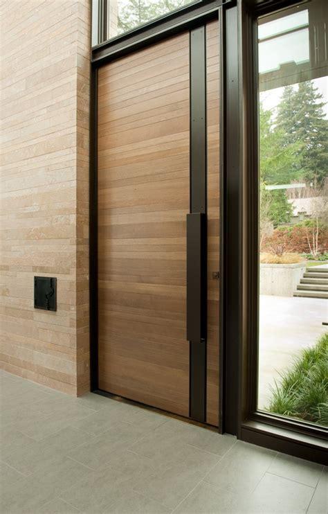 door designs 40 modern doors for every home architecture beast