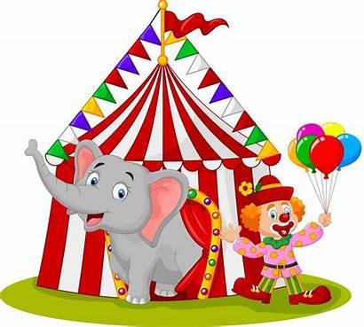 Circus Clip Carnival Clown Clipart Animals Songs