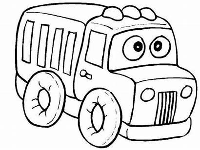 Coloring Boys Shopping Training Truck Children Stumble
