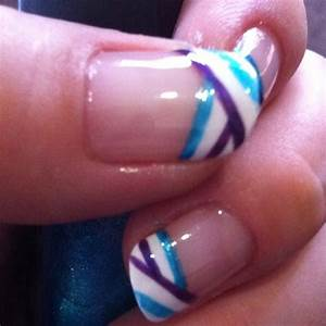 37 best Manis 2 try - French or Funky Tips images on ...