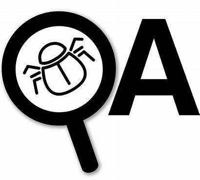 Qa Testing Process Monitoring Icons Existing Finding