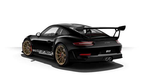 black porsche 911 gt3 2019 porsche 911 gt3 rs color options