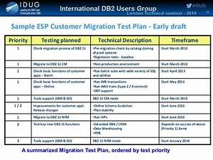 planning and executing a db2 11 for z os migration by ian cook With database test plan template