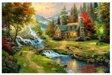 the painter of light carol ann kauffman 39 s vision and verse thomas kinkade