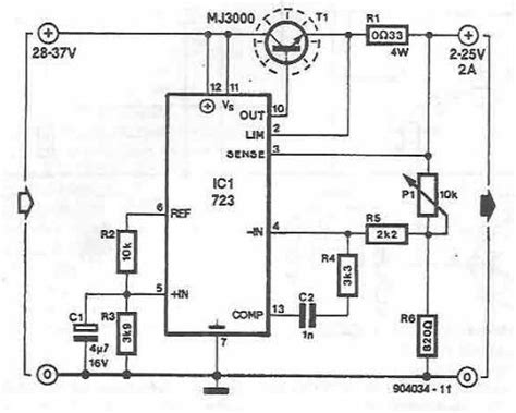 Variable Power Supply Circuit