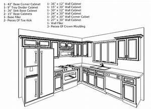 Very Small Kitchen Ideas, Blueprint 10x10 afreakatheart