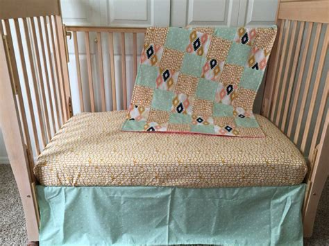 aztec bedding baby bedding bumperless by sewsweetbabydesigns
