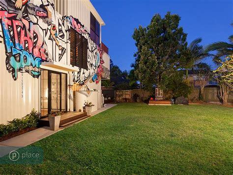 kitchen furniture brisbane garden graffiti shipping container home in brisbane