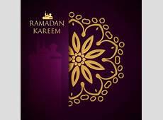 Ramadan kareem purple backgrounds vector set 27 free download