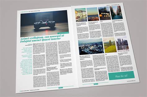 multiformat newspaper magazine templates  creative market