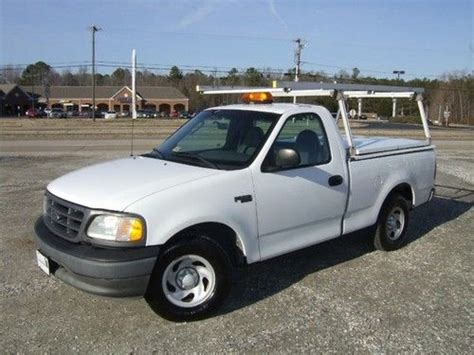 ford f 150 ladder rack purchase used 2003 ford f150 xl ladder rack utility bed in