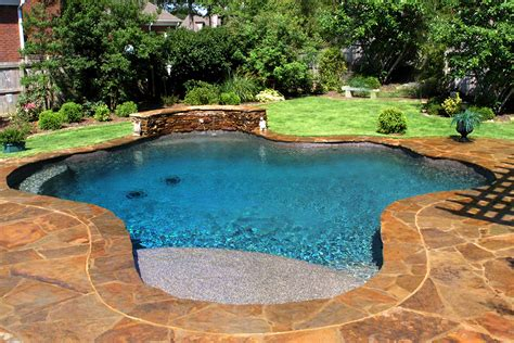 a picture of a pool swimming pool accents pool features personalized features