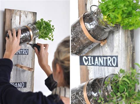 Kräutergarten Küche Diy by Transformed Jar Herb Garden Camille Styles