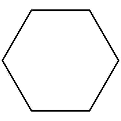 hexagon template file regular hexagon svg wikimedia commons