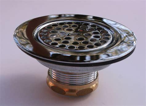 New Zurn Z8739pc Chrome Brass Flat Top Sink Basket