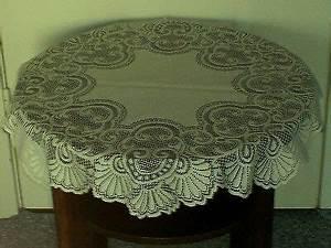 Tischdecke Weiß Bügelfrei : tischdecke geh kelt wollwei ca 100 x 100 cm wie neu eur 1 00 picclick de ~ Eleganceandgraceweddings.com Haus und Dekorationen