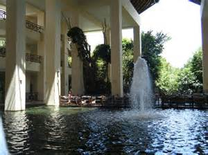 Indoor Pond with Fountain