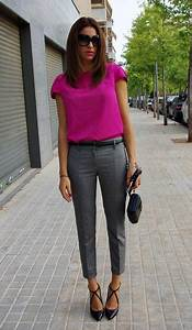 20 Office Outfits with Cropped Pants for Early Fall - Pretty Designs
