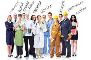 Different Types of Professions