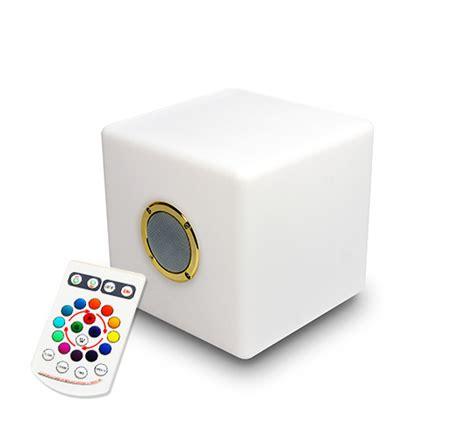 enceinte sans fil exterieur enceinte bluetooth cube lumineux led 20 cm ext 233 rieur sans fil 69 s