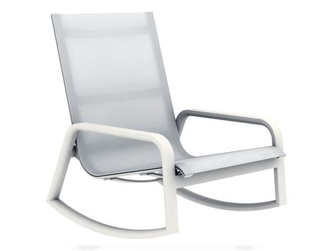 Gandia Blasco Stack Outdoor Rocking Armchair By Borja