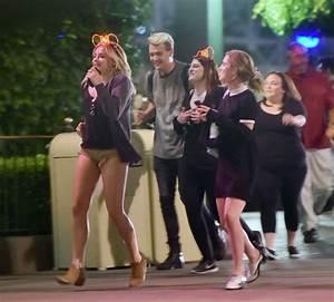 CHLOE MORETZ at Disneyland 05/18/2016 - HawtCelebs
