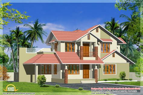 different house plans 3 different indian house elevations kerala home design