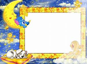 Night Baby PNG Photo Frame | Gallery Yopriceville - High ...