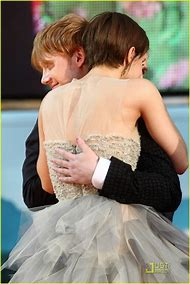 Emma Watson and Rupert Grint Crying