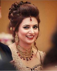 348 best images about Wedding Hairstyles (Indian) by Weddingsonline India on Pinterest Hindus